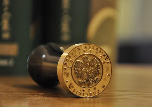 pieczęć notarialna